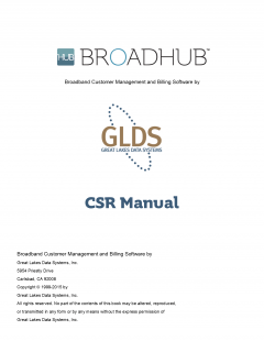 BroadHub CSR Manual