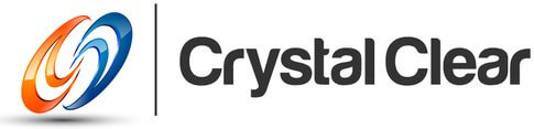 Crystal Clear Fiber Logo